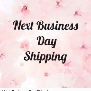 Next Business Day shipping on all orders!